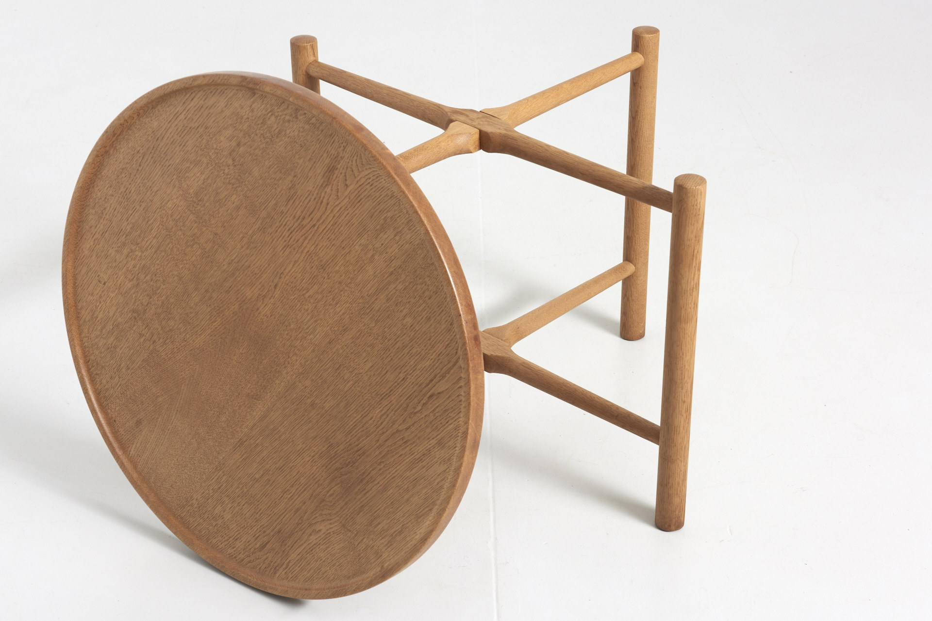 Round Coffee Table For Andreas Tuck Hans J Wegner