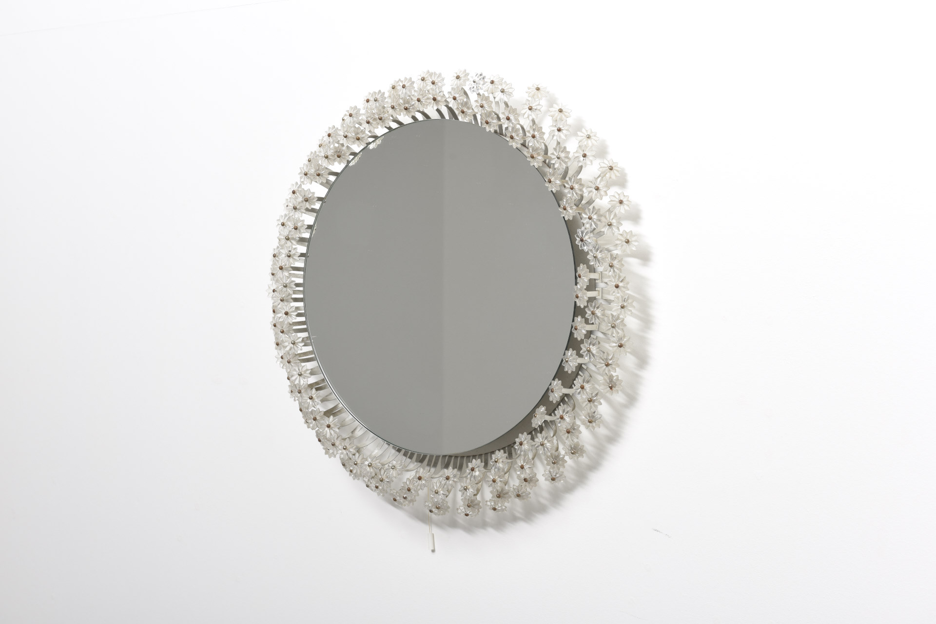 Flower Mirror With Backlight Emil Stejnar Archive Modest Furniture