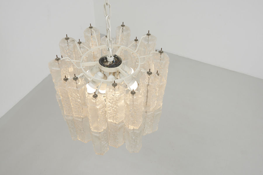 modest furniture vintage 1801 large glass chandelier style venini 12