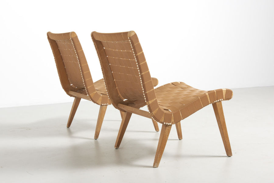 modestfurniture-vintage-1881-jens-risom-easy-chairs-knoll-beige05