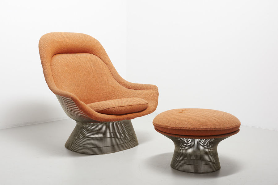 modestfurniture-vintage-2201-warren-platner-lounge-chair-with-ottoman-knoll-international01