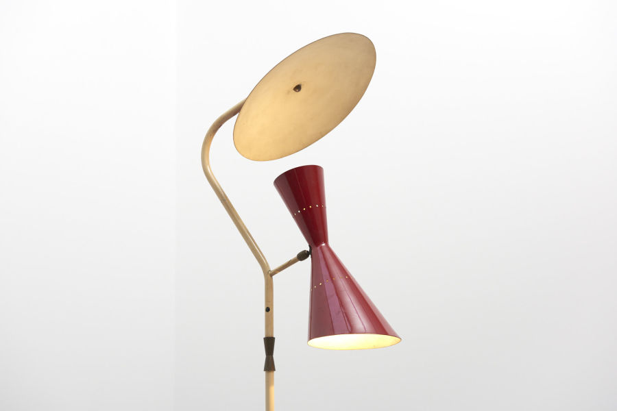 modestfurniture-vintage-2228-floor-lamp-red-indirect-up-down-red-shade-italy-195002