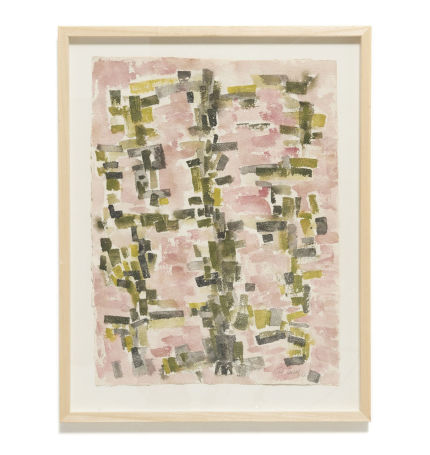 modestfurniture-vintage-k003-richard-lucas-1957-aquarel-rose-et-vert01_1