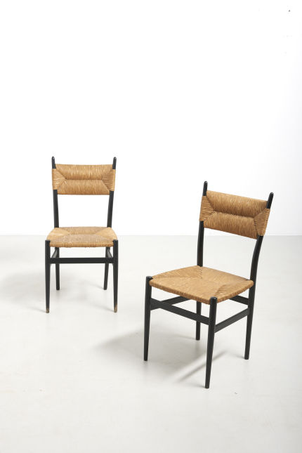 modestfurniture-vintage-2551-pair-black-dining-chairs-paper-cord11