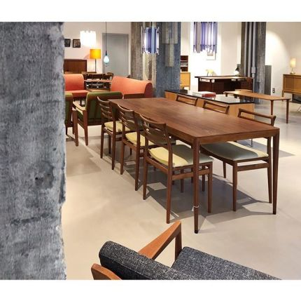 Nice long table by Severin Hansen #danishdesign #midcenturyfurniture #severinhansen