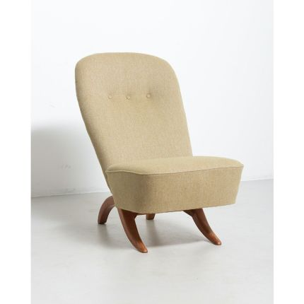 A Congo Easy Chair   Design by Theo Ruth for Artifort   Netherlands, 1950s   Soon available online ✨ Stay safe and have a lovely day ☀️#vintage #vint