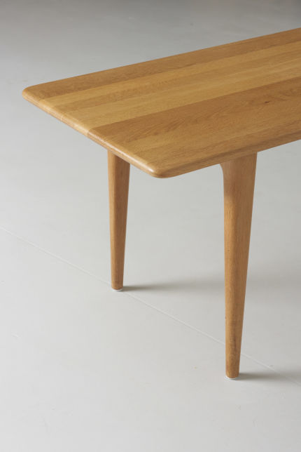 modest furniture vintage 1599 low table solid oak 05