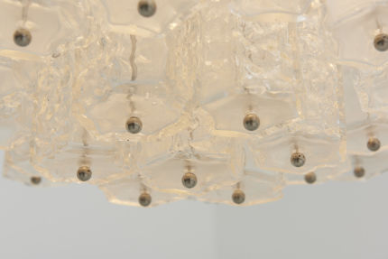 modest furniture vintage 1801 large glass chandelier style venini 11