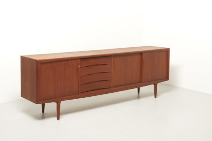 modest furniture vintage 1816 teak sideboard aco 02