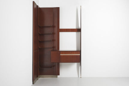 modest furniture vintage 1850 italian wall unit 1950 06