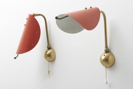modestfurniture-vintage-1991-pair-wall-lamps-brass-red-shade08