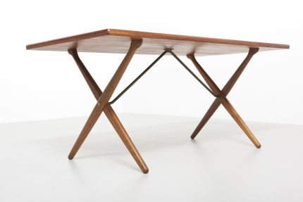 modestfurniture-vintage-2130-hans-wegner-crossleg-table-andreas-tuck-at-30305