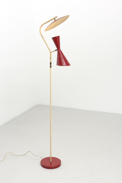 modestfurniture-vintage-2228-floor-lamp-red-indirect-up-down-red-shade-italy-195011