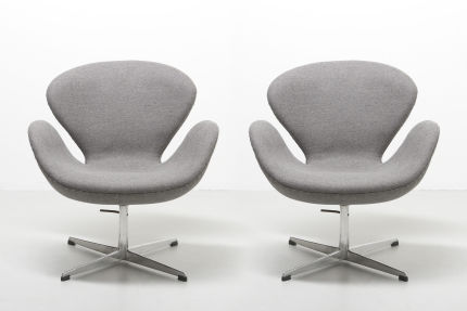 modest furniture vintage 1340 arne jacobsen swan armchair fritz hansen 00