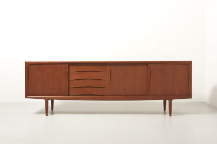 modest furniture vintage 1816 teak sideboard aco 01